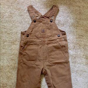 Kids unisex Carhartt Overalls size 24 months